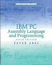 IBM PC Assembly Language and Programming, 5/e (Paperback)-cover