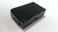 Raspberry Pi 原廠授權外殼(黑色) (MULTICOMP - MC-RP001-BLK - ENCLOSURE, RASPBERRY PI, BLACK)-cover
