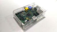 Raspberry Pi 原廠授權外殼(透明) (MULTICOMP - MC-RP001-CLR - ENCLOSURE, RASPBERRY PI, CLEAR)-cover