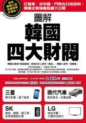 圖解韓國四大財閥─打蘋果、攻中國,鬥得台日哇哇叫,韓國企業強權底細大公開