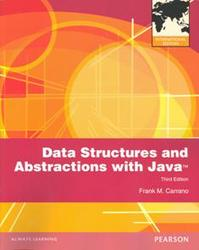 Data Structures and Abstractions with Java, 3/e (IE-Paperback)-cover