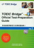 TOEIC Bridge Official Test-Preparation Guide Vol.1 多益普級測驗官方全真試題指南 I-cover