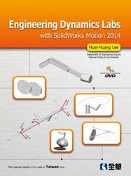 Engineering Dynamics Labs with SolidWorks Motion 2014-cover