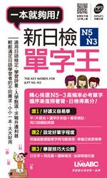 新日檢N5~N3 單字王(本書為IKU老師說一定會考的新日檢高分單字 N5~N3口袋書版)(書 + 1片朗讀MP3光碟)-cover