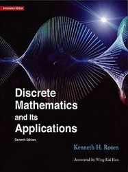 離散數學 原文導讀版 (Rosen: Discrete Mathematics and Its Applications, 7/e)(授權經銷版)-cover