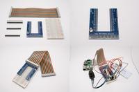 GPIO 轉接板套件(含GPIO排線 + 麵包板 + 轉接板)(未銲)(Model B+ / Pi 2 / Pi 3 適用)-cover