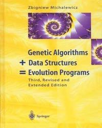 Genetic Algorithms + Data Structures = Evolution Programs, 3/e-cover