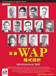 專業 WAP 程式設計 (Professional WAP)-cover