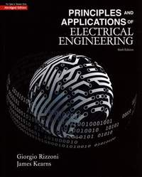 Principles and Applications of Electrical Engineering, 6/e (IE)(Abridged Edition)-cover