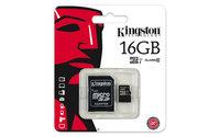 Kingston MicroSD卡 C10 16GB-cover