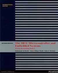 The 8051 Microcontroller and Embedded Systems, 2/e (IE-Paperback)-cover