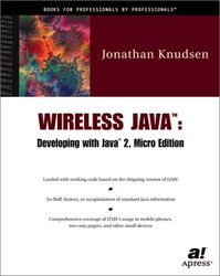 Wireless Java: Developing with Java 2, Micro Edition-cover